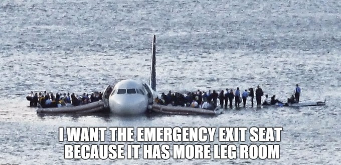 Emergency Exit Seats