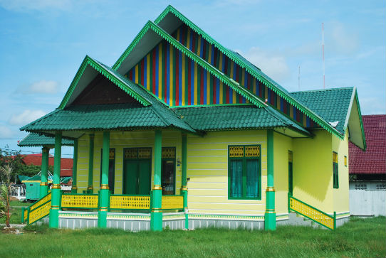 Acehnese House 1 indonesia pestablogger 2009  photo image