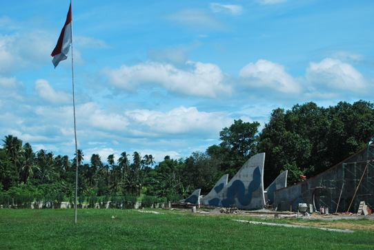 Banda Aceh Mass Grave indonesia pestablogger 2009  photo image
