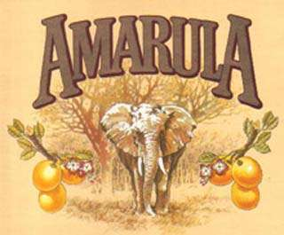 Marula Tree and Fruit Drunk Animals - Amarula Logo