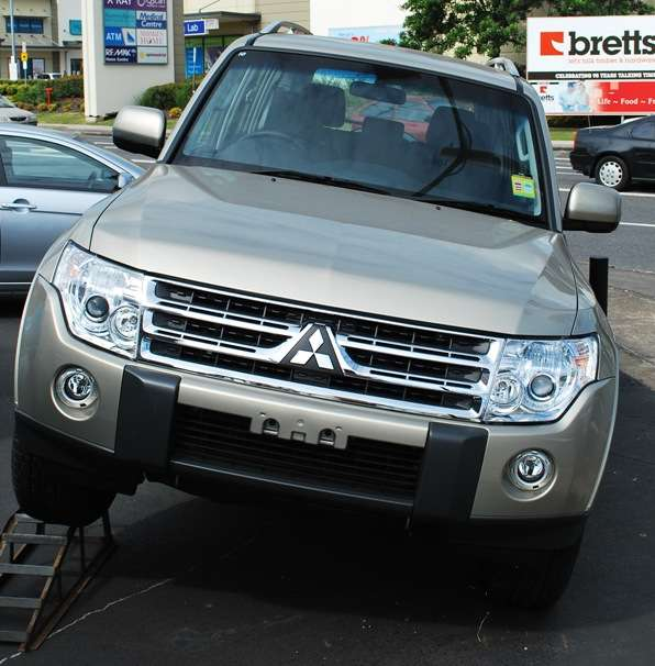 Mitsubishi Pajero - Spanish for Wanker.  Off Road 4WD