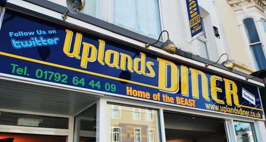 Wales Restaurants - Uplands Diner