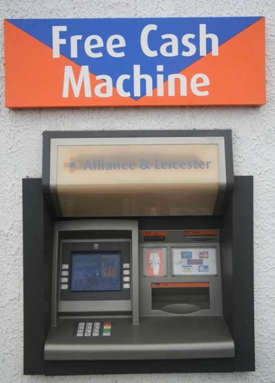 Free Cash Machine Northern Ireland