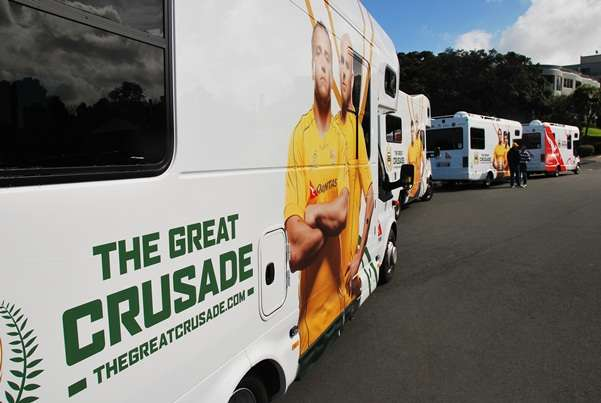The Great Crusade - New Zealand Campervan Ultimate Tour