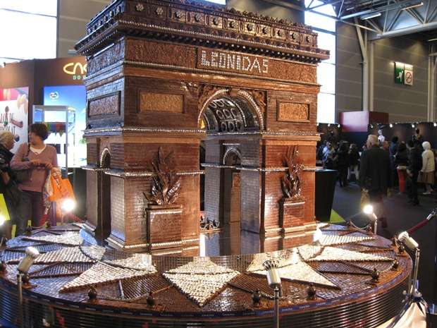 Chocolate festivals and carvings the travel tart blog for Salon du bio paris