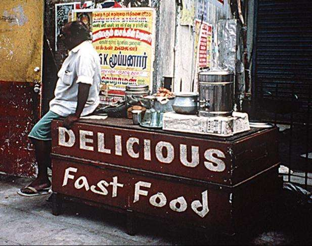 Fast Food when Travelling