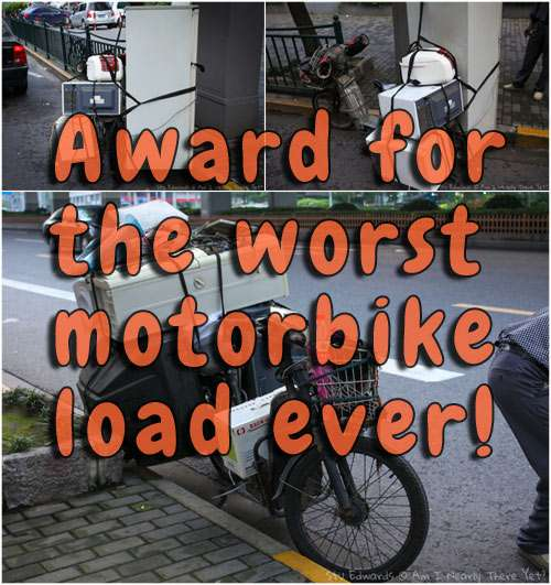 Funny Motorcycle Photos Overloaded The Travel Tart Blog