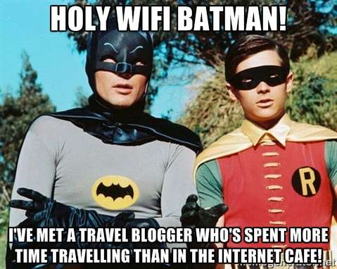 Batman and Robin Travel Meme