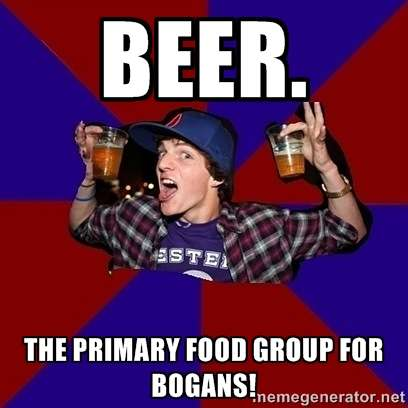 Bogan Beer Meme