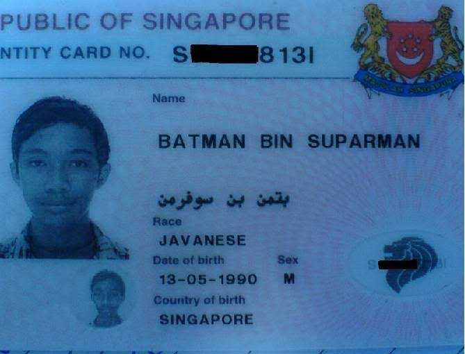 Create Your Own Superhero - Batman bin Suparman