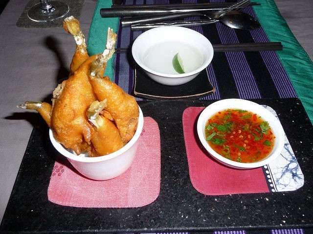 Weird Indian Food - Frog Legs