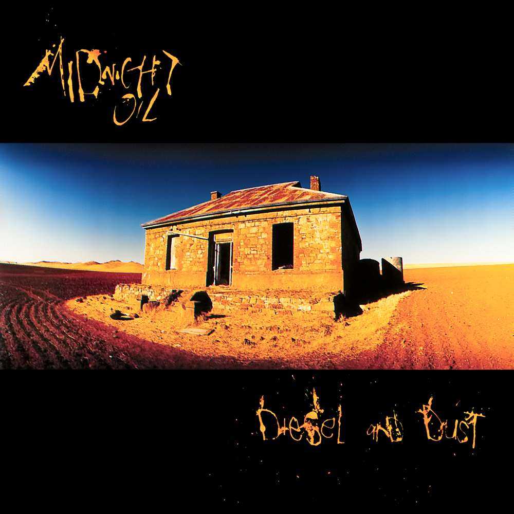 Midnight Oil Diesel And Dust Album Cover The Travel