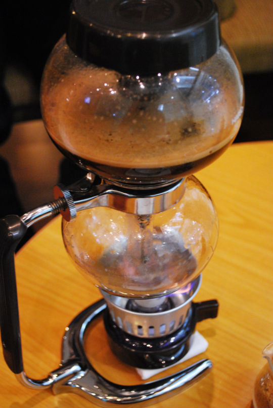 Boiled up Kopi Luwak Coffee